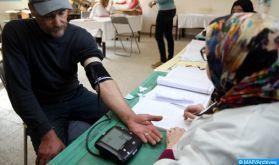 Caravane médico-sociale au profit des familles de l'éducation-formation à Tiznit et Tata