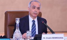 """La relation """"d'exception"""" entre Rabat et Paris, une opportunité pour mieux adresser ensemble les défis et les opportunités de la crise de Covid-19 (M. Benmoussa)"""