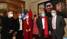 Exposition d'artistes marocains et latino-américains au Sénat chilien