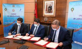 Signature à Rabat de conventions de partenariat pour la promotion du sport scolaire, le foot féminin en particulier