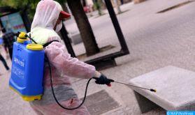 Safi : Vaste opération de désinfection des véhicules de passage de la commune Tlat Sidi Bouguedra