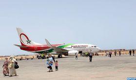 Arrivée à l'aéroport de Dakhla de 118 Marocains rapatriés de Mauritanie