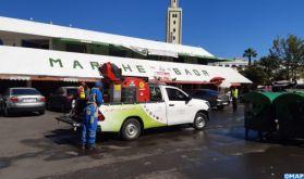 Covid-19: Les opérations de désinfection se poursuivent sans relâche à Casablanca