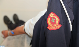 El Kalâa des Sraghna: Les éléments de la police mobilisés pour renflouer les stocks de sang