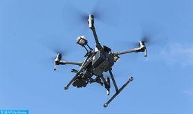 Laâyoune: Des drones pour débusquer les contrevenants à l'état d'urgence sanitaire