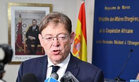 La région de Valence ambitionne de renforcer sa coopération avec le Maroc (président de la région)