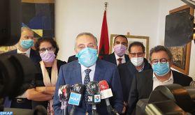 Covid-19: Plus de 13 millions de masques de protection distribués