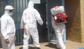 Errachidia : poursuite de la désinfection des administrations et lieux publics