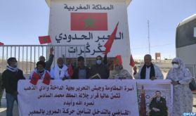 El Guerguarat: La famille de la Résistance de Dakhla-Oued Eddahab exprime sa mobilisation derrière SM le Roi pour préserver l'intégrité territoriale