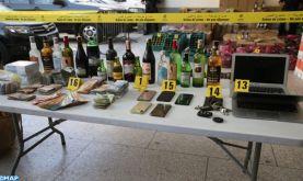 Fès : Saisie de plus de 5.000 bouteilles de boissons alcoolisées