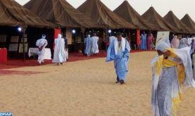 Forte affluence sur le pavillon marocain à l'exposition du Festival des villes anciennes de Chinguetti