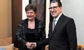 La DG du FMI salue les chantiers de réforme engagés par le Maroc