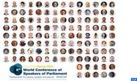Clôture des travaux de la 5ème conférence mondiale des présidents de parlements
