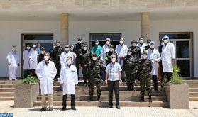 Huit personnes guéries du Covid-19 quittent l'hôpital Al Farabi d'Oujda