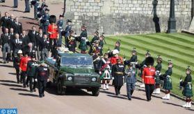 La famille royale britannique rend un ultime hommage au prince Philip, époux de la reine Elizabeth II