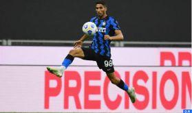 Championnat d'Italie: Achraf Hakimi mène l'Inter Milan à sa troisième victoire consécutive