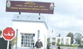 Hôpital militaire de campagne à Nouaceur, une nouvelle structure sanitaire pour faire face au coronavirus