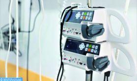 Remise d'un lot de matériel médical à l'hôpital de Boujdour