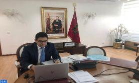 """""""Le Maroc a été de tous les combats pour le Sahel et avec le Sahel"""" (M. Bourita)"""