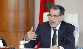 """M. El Otmani met en avant la solidité des relations """"historiques et profondes"""" entre le Maroc et la Chine"""