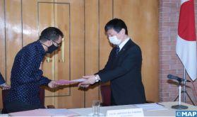 Rabat: Contrats de dons entre l'ambassade du Japon et deux associations marocaines relatifs au développement local