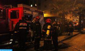 Fès : Incendie dans un marché informel de légumes