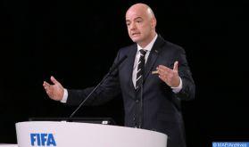 Promotion du football national : Le président de la FIFA exprime ses remerciements à SM le Roi