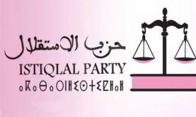 La prochaine étape requiert un gouvernement fort, solidaire et homogène (Parti de l'Istiqlal)