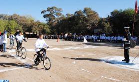 Série d'activités à Tata à l'occasion de la Journée nationale de la sécurité routière
