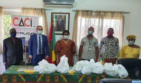Covid-19 : un opérateur marocain soutient 160 étudiants congolais