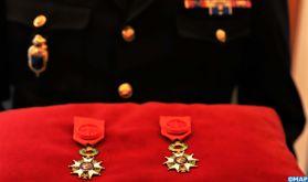 Deux personnalités marocaines décorées de l'insigne d'Officier de la Légion d'Honneur de la République française