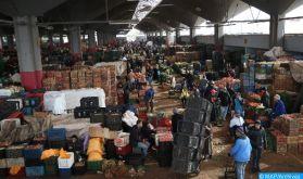 Produits alimentaires: Les marchés bien approvisionnés, les prix stables (ministère)