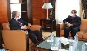 Statistiques: Le renforcement de la coopération au centre d'entretiens entre M. Lahlimi et l'Ambassadeur de la Mauritanie