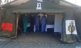 Hôpital militaire marocain à Beyrouth : plus de 28.600 prestations médicales prodiguées