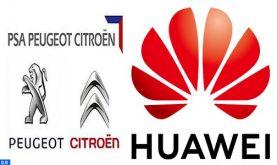 COvid 19: HUAWEI et le groupe Peugeot-Citroën accordent deux dons au Maroc