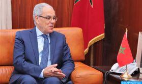 Maroc-Royaume-Uni: M. Loudyi s'entretient à Rabat avec le Général de Corps d'Armée britannique, Sir John Lorimer