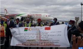Covid-19 : L'aide médicale marocaine destinée à Madagascar réceptionnée à Antananarivo