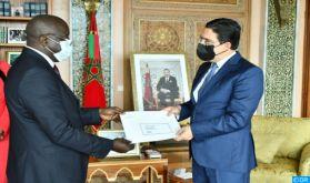 M. Bourita reçoit le nouvel ambassadeur de Guinée Bissau au Maroc