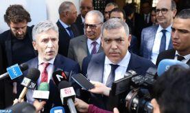 """Maroc-Espagne : La coopération entre les services de sécurité est """"exemplaire"""", souligne Grande-Marlaska"""