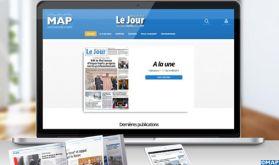"""La MAP met en ligne gratuitement son quotidien digital """"Maroc Le Jour"""""""