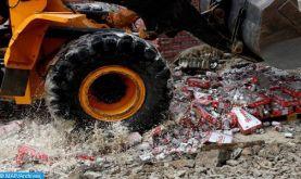 Marrakech: Saisie de boissons alcoolisées périmées ou ayant fait l'objet de fraude pour se soustraire aux impositions fiscales et douanières