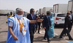 Toutes les facilités accordées aux routiers marocains pour approvisionner le marché mauritanien dans de bonnes conditions