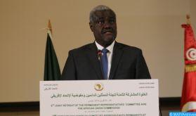 Le Président de la Commission de l'Union africaine se met en quarantaine après que l'un de ses collaborateurs ait été testé positif au coronavirus
