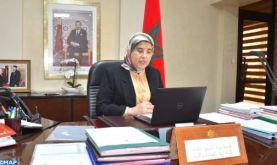 Mme El Moussali met en avant l'approche adoptée par le Maroc pour limiter l'impact du Coronavirus sur les catégories sociales vulnérables