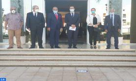 M. El Ferdaous reçoit une délégation du bureau exécutif de la FMEJ