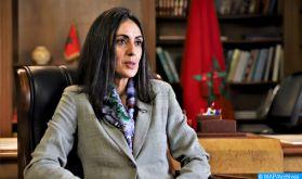 """Mme Fettah plaide pour un nouveau modèle de développement """"durable"""" et """"inclusif"""""""