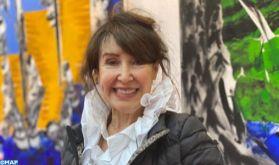 L'artiste peintre marocaine Najia Sedrati expose ses œuvres au Salon des Indépendants au Grand Palais à Paris