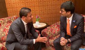 Les perspectives de coopération au centre d'une visite d'une délégation parlementaire marocaine à New Delhi