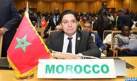 M. Bourita souligne à Addis-Abeba l'exclusivité du cadre onusien pour trouver une solution à la question du Sahara marocain