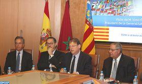 La région de Valence veut collaborer davantage avec les entreprises marocaines (président)